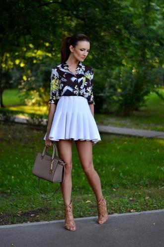 shoes skirt bag my silk fairytale