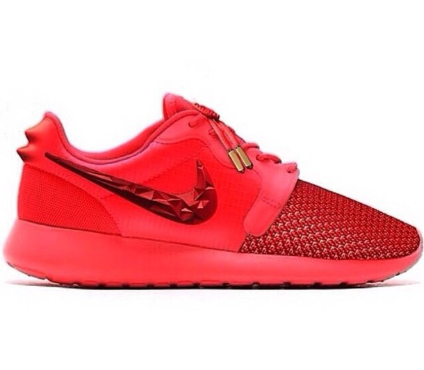 shoes nike nike roshe run gold nikepink pink red nikered nikeid nikes shoes sneakers nike shoes nike roshe run red octobers yeezy's nike running shoes