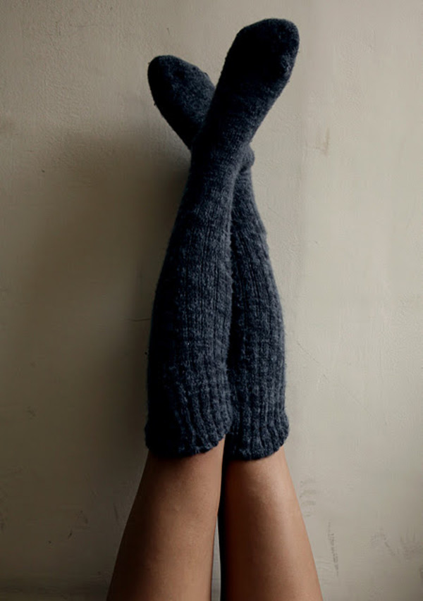 shoes socks knee high socks cozy knit charcoal comfy