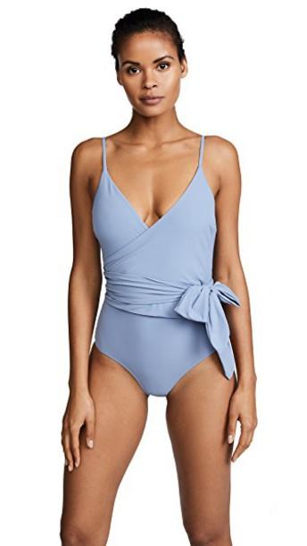 Stella McCartney infinity blue swimwear