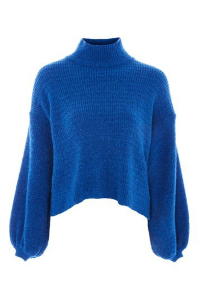 Topshop jumper blue sweater