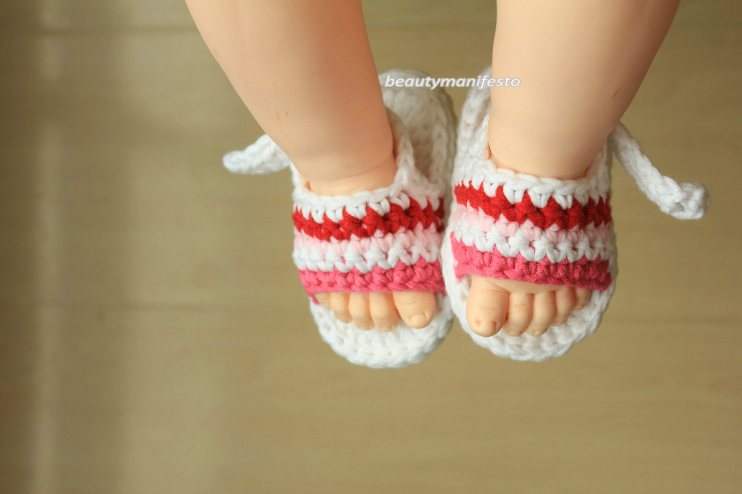 16eff236f Crochet Baby Shoes-Crochet Sandals-Newborn Baby Shoes-Baby ...