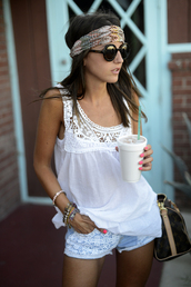 lovely pepa,t-shirt,bag,shorts,shoes,sunglasses,jewels,embroidered shorts