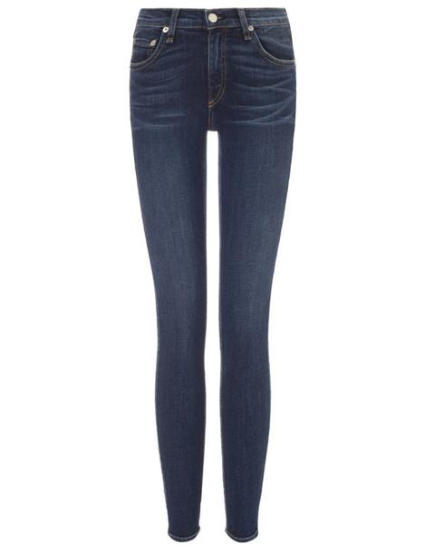 Rag & Bone jeans skinny jeans blue