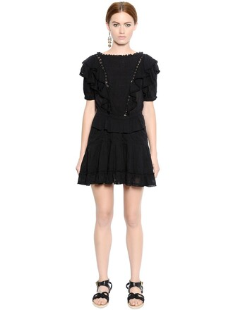 dress lace dress lace cotton black