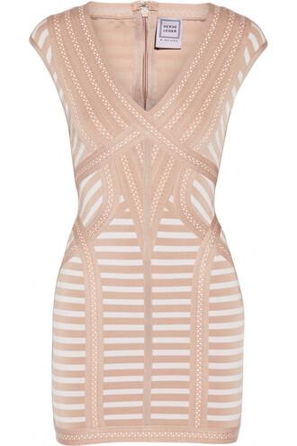 dress mini dress mini knit jacquard