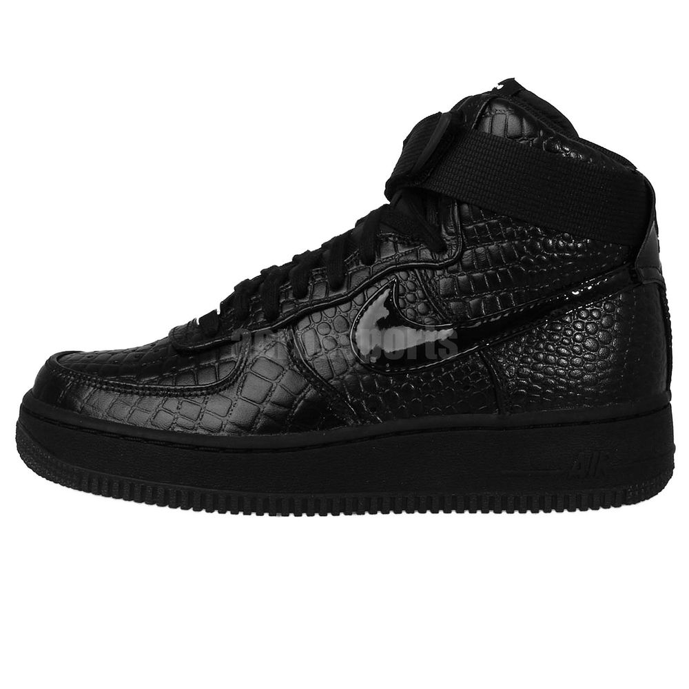Nike Air Force 1 High Reflective Silver Croc | Release