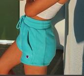 shorts,champion,jersey shorts,emma chamberlain