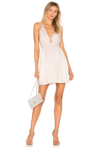 8a4667d645 Free People Gabby s Party All Night Dress in beige   beige - Wheretoget