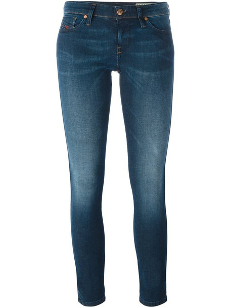 Diesel jeans skinny jeans blue