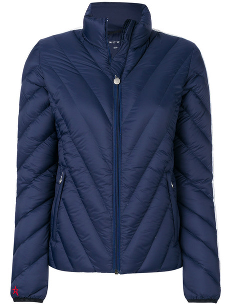 jacket mini women blue