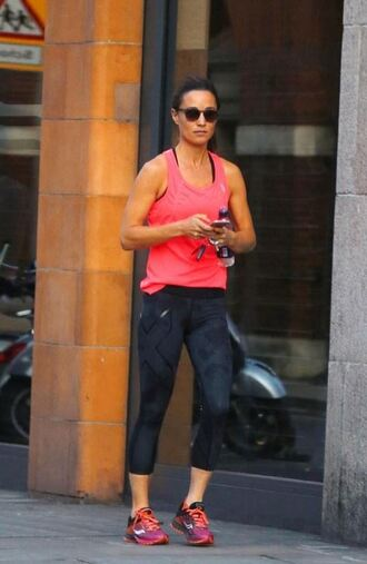 leggings pippa middleton sneakers top sportswear sporty