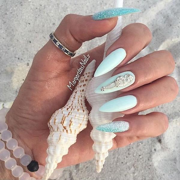 nail accessories nails nail art nail polish blue polish nail charms nail charm sterling silver silver nail charm silver charm scepter alleycat nails alleycat jewelry nail jewelry nail jewellery nail fashion fashion summer nails beach nails vacation nails nail jewels beach nail veils nail lacquer 3d nail art reusable nail jewelry nail shields