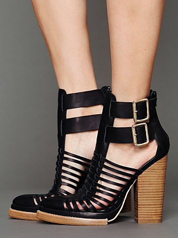 Jeffrey campbell   free people  fairfax heel at free people clothing boutique