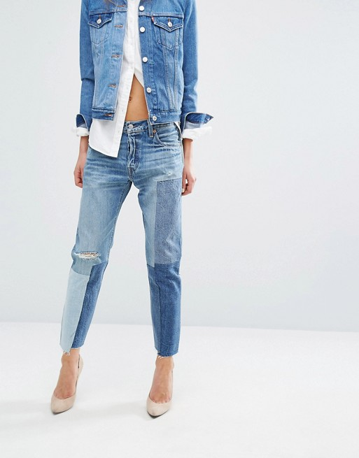 reasonable price sale usa online release date Levi's 501 Jeans with Patching at asos.com