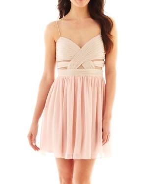 dress party dress pastel dress beige light brown girly kawaii dress