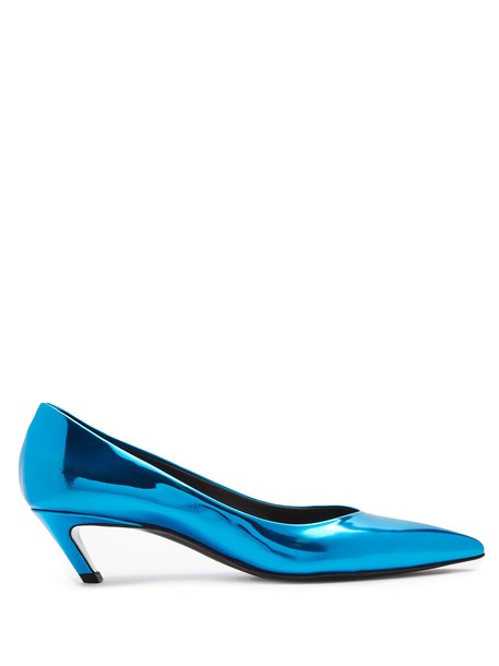 Balenciaga pumps blue shoes