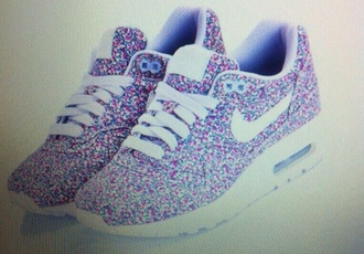 shoes nike nike air force air max floral liberty