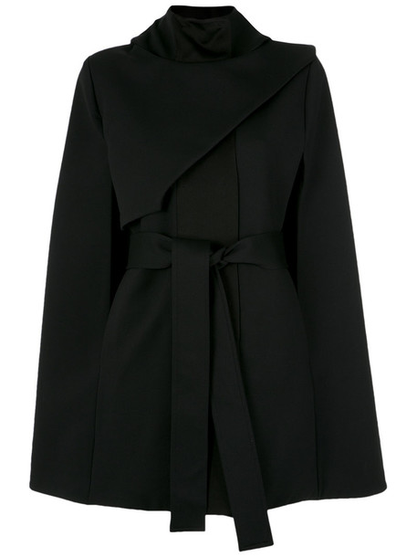 cape women spandex black top