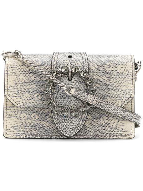 Miu Miu women embellished bag shoulder bag leather grey