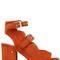 70mm noe suede double buckle sandals