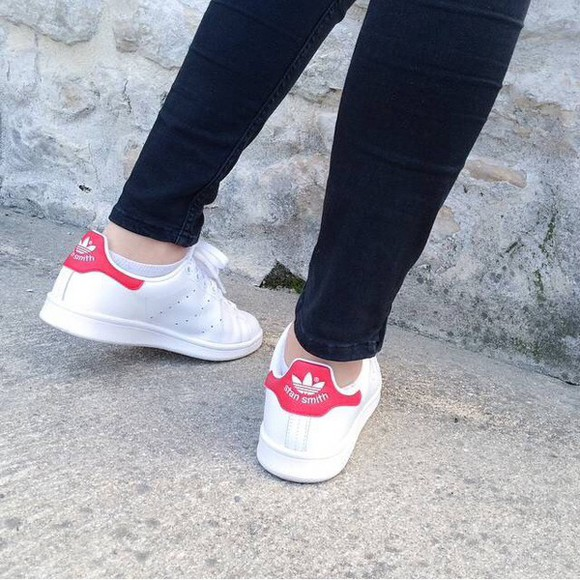 adidas shoes adidas shoes stan smith velcro pink sneakers