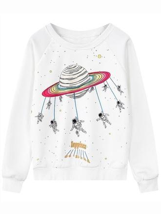 sweater crewneck white space