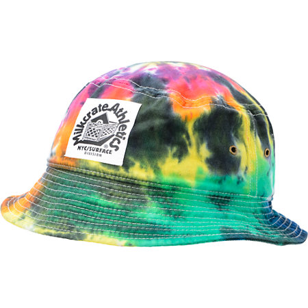 Milkcrate Black Tie Dye Bucket Hat at Zumiez   PDP 877c657986f