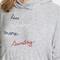 Sundry less monday drapey hoodie