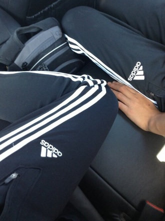 pants adidas need  basic musthave joggers pants joggers black white sportswear sporty sweatpants sweats adidas sweatpants