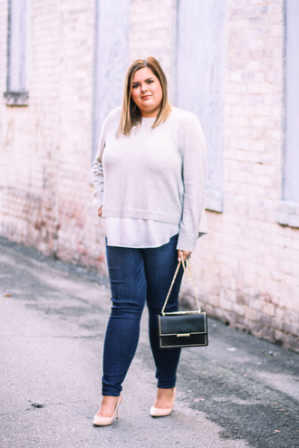 stylishsassy&classy blogger top jeans bag shoes