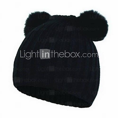 01 women's cat's ear hat