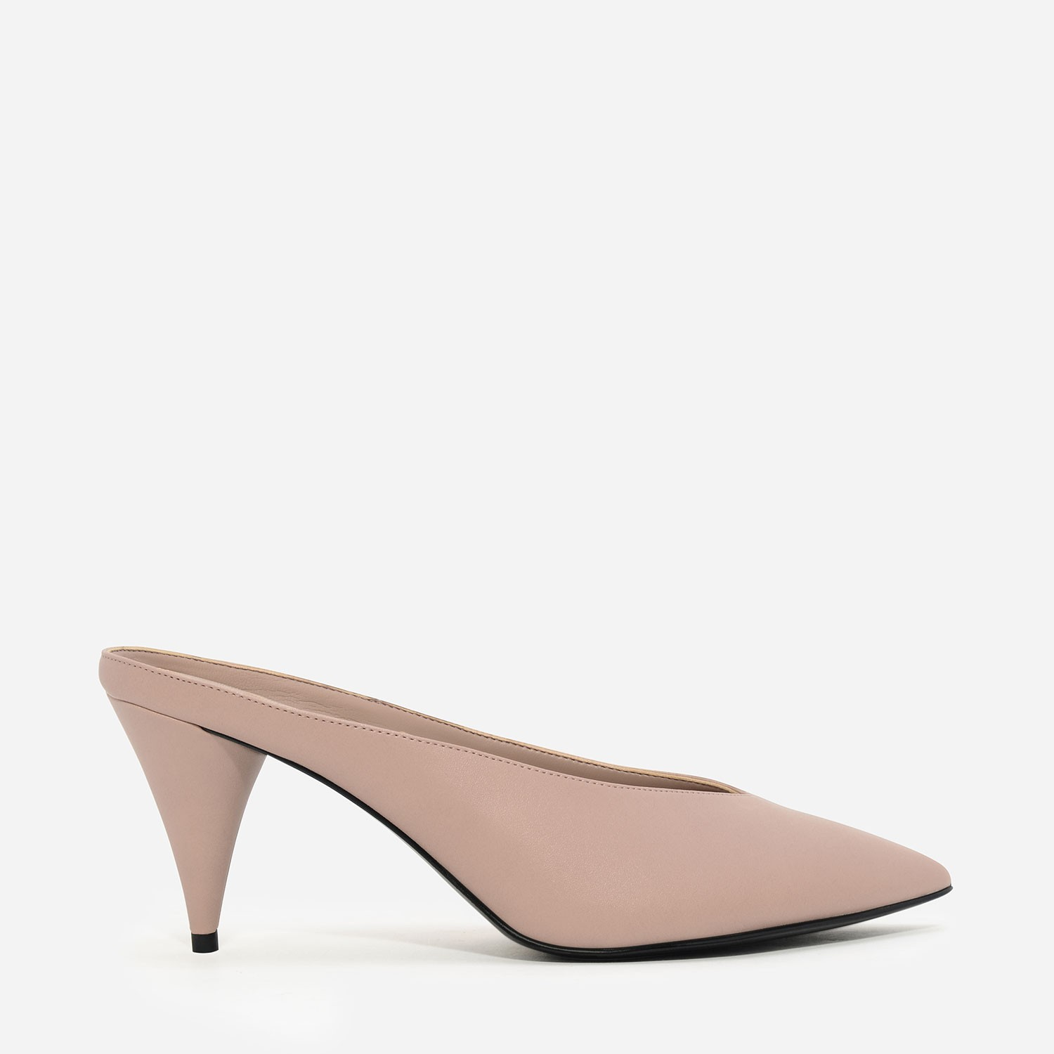 Pink Pointed Mules | CHARLES & KEITH