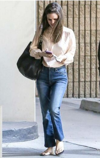 jeans shirt blouse rachel bilson