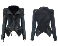 Rivets denim jacket bv1015ca