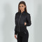 Women's quilted bomber jacket - black