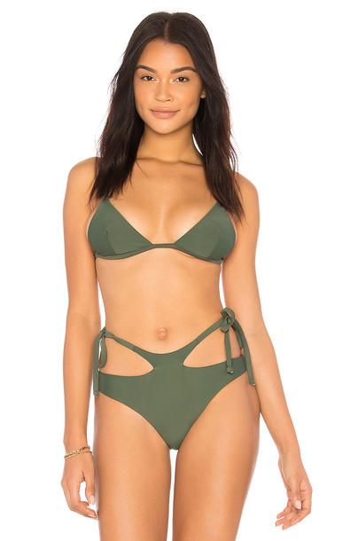 Midsommar Swim bikini bikini top green swimwear