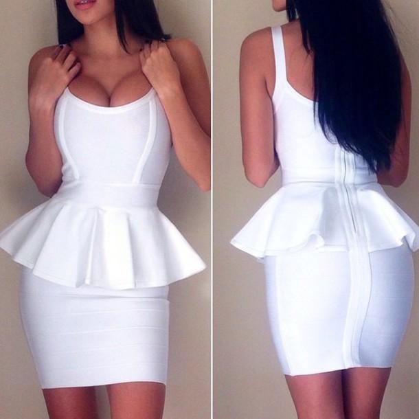 Bodycon Peplum Dresses
