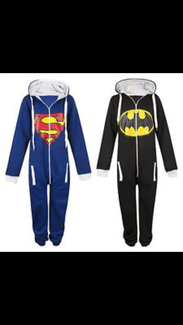 pajamas onesie superman