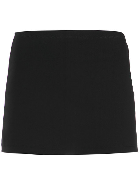 Gloria Coelho skorts women spandex black skirt