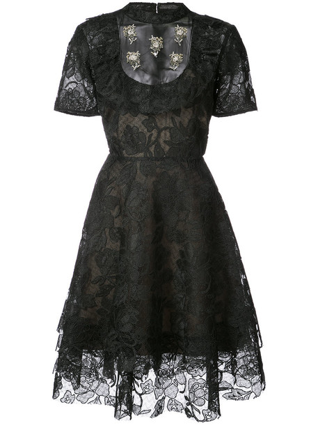 Sachin & Babi dress women lace black
