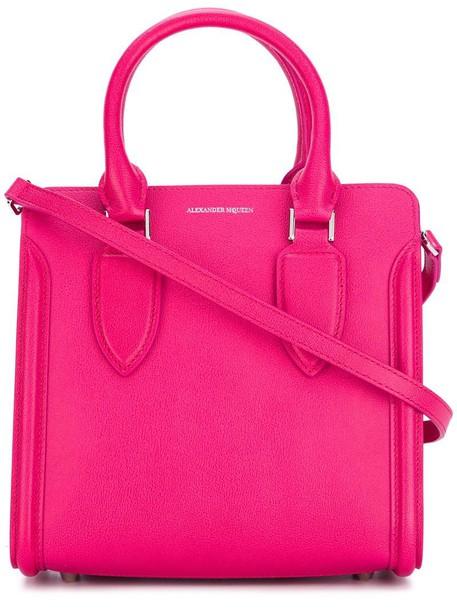 Alexander Mcqueen women purple pink bag