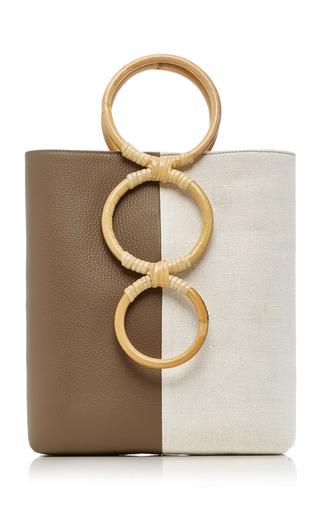 Petra Mini Leather Tote Bag With Bamboo Handles by Carolina Santo Domingo | Moda Operandi