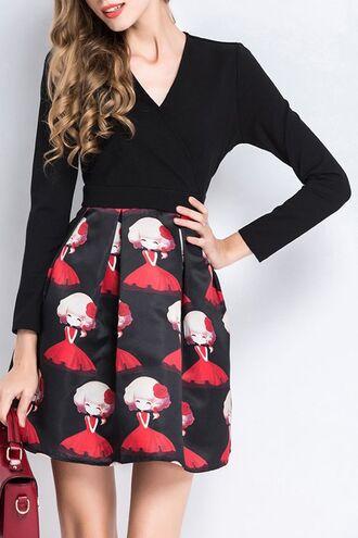 dress dezzal black fashion classy style casual mini dress lookbook