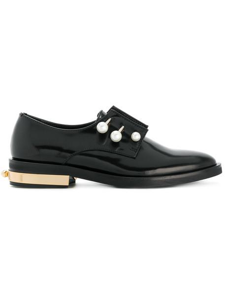 Coliac women shoes leather black