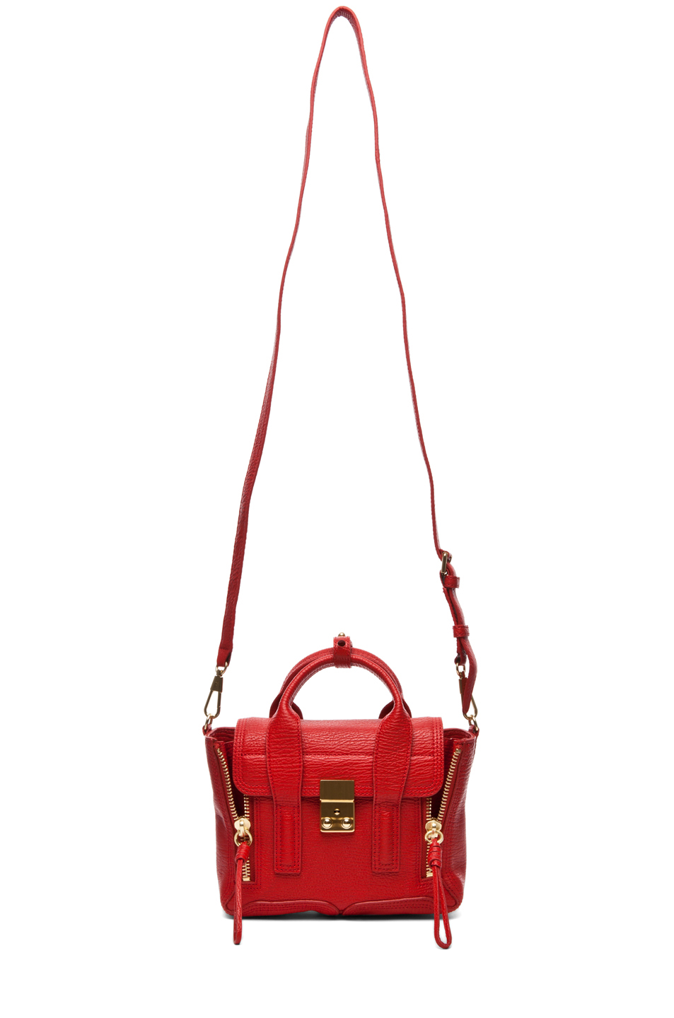 3.1 phillip lim|Mini Pashli Satchel in Red