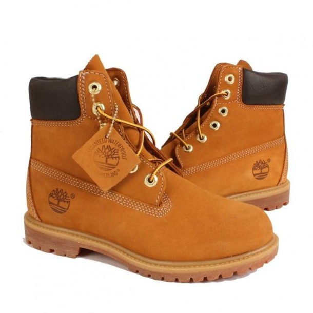 Shoes: timberlands, women, brown, boots, workboots, winter outfits ...