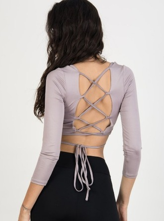 top girl girly girly wishist strappy tie up lace up cute crop crop tops cropped