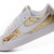 Womens Promotion Nike Blazer Low Classic Fashion Board Shoes White Gold Cheap Sale-Buy Real Womens Nike Blazer Low Shoes