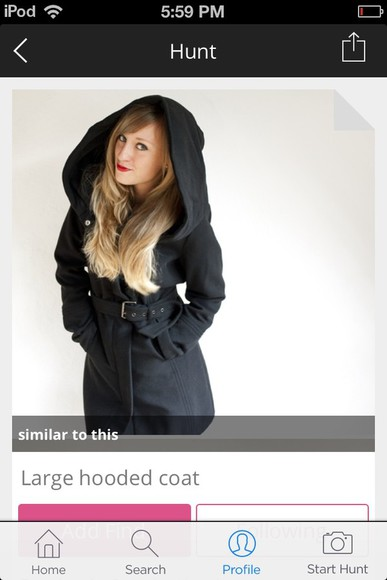 coat black coat black peacoat hooded coat